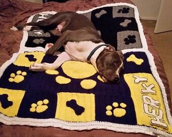 Dog Blanket in Team Colors