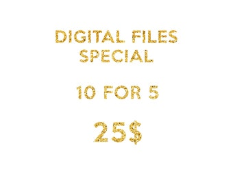 DIGITAL FILES SPECIAL, 10 Files For The Price of 5
