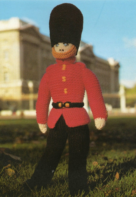 Knitting Patterns Toy Soldiers : Toy Soldier Knitting Pattern