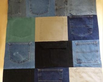 Denim Storage Pockets