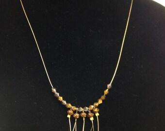Copper Fringe Necklace