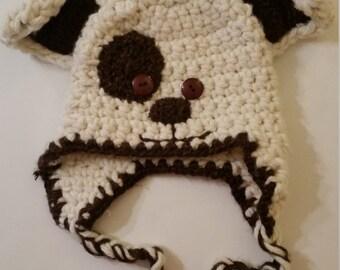 Puppy dog winter hat