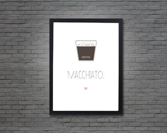 Macchiato | Digital Art, Printable