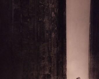 "Edward Steichen Photo, ""Isadora Duncan in the Parthenon, Athens"" 1921"