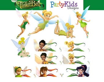 Tinker Bell Clipart, Instant Download, PNG files PC-060