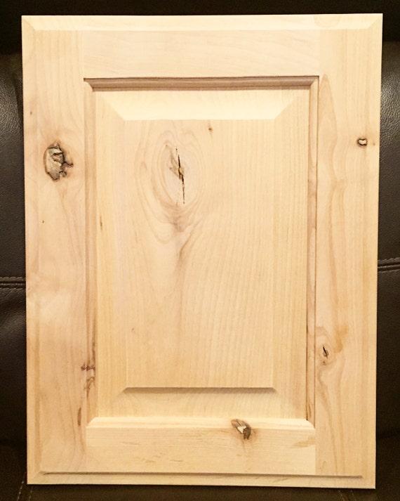 Columbia Style Door In Rustic Alder Unfinished Cabinet Doors