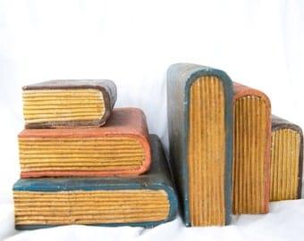 Books as a shelf, set of 2