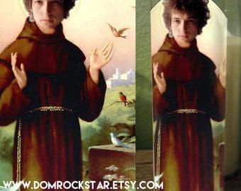 Bob Dylan Saint Candle - St Dylan