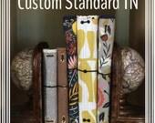 Standard Foxtail Threads Quilted Traveler's Notebook