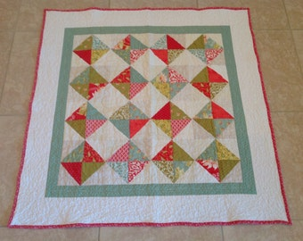 Home Made Quilt -- Sweetwater Square