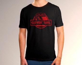 """Men's Jurassic World """"Clever Girl"""" Tee"""