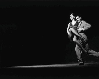 Vanessa & Alejandro - Tango in Argentina in 2000, Fine Art Print signed with embossing, dance, Latin America
