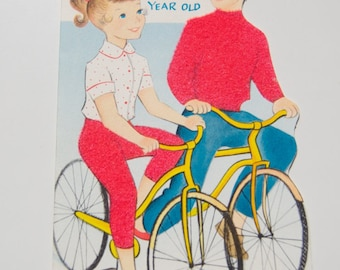 Vintage Birthday Card for 11 Year Old