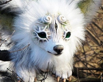 Snow Wolf, the Forest Spirit