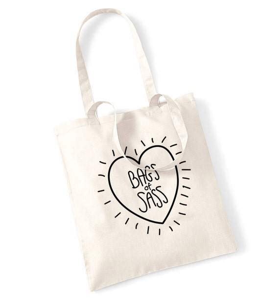 Bags of sass tote bag tumblr instagram hipster fashion funny