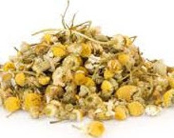 Dried Chamomile Flowers - Chamomile For Spell Work - Wicca Chamomile - Sleep Spell Chamomile - Magickal Chamomile - Witch Supplies - Magick