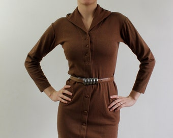 Vintage brown dress Size M / Brown dress size M