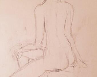 Woman sitting 6/17