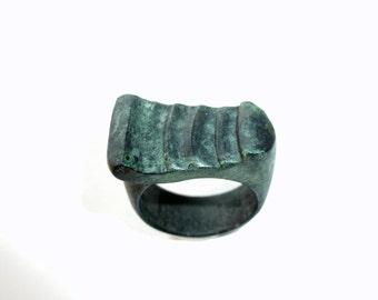 UNIQUE: bronze ring