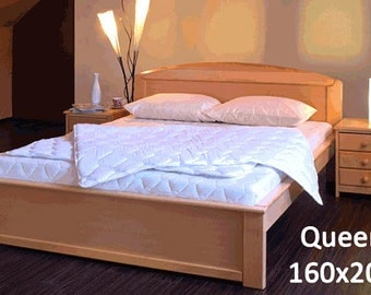 Hand made high-quality double bed
