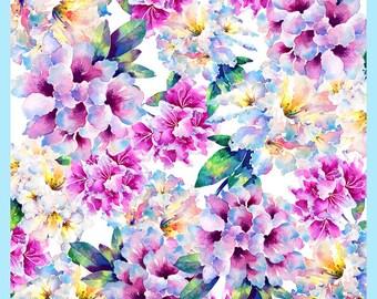 Watercolour Flowers RHODODENDRONS Original Flower Art Card, Handmade Watercolour Flower Painting, Printed Original Greeting Card, Blank Card