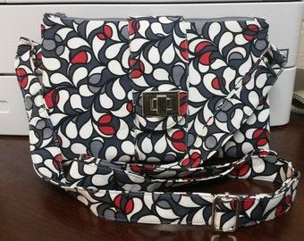 Butterfly Sling crossbody purse/clutch