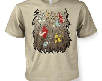 Mr Scruffys Beard Costume kids t-shirt