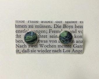 Earrings - handmade from Micky Maus