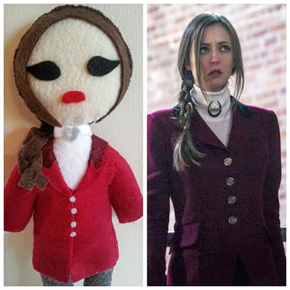 Margot Verger Felt Doll From