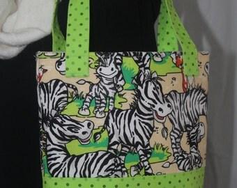 Cute Zebra bag
