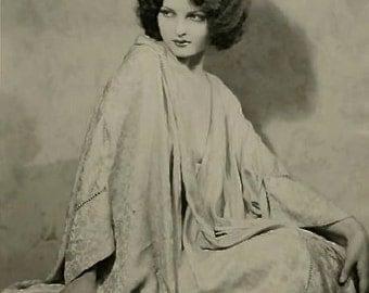 1920's Era Ziegfeld Follies Star Lillian Bond-Sepia-Multiple Sizes-[730-099] Classic Sultry Hollywood Bombshell