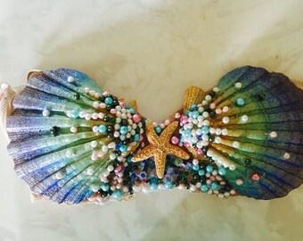 Mermaid Seashell Bra Top
