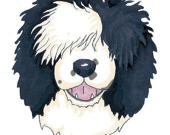 Custom Dog Cartoon Doodle