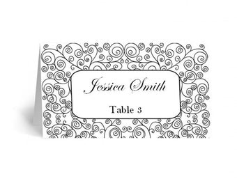 Wedding place cards Wedding place cards printable Place cards wedding Wedding seating place cards Printable wedding place cards T1