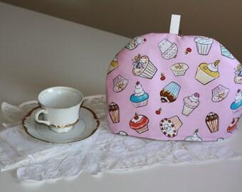 Pink Cupcake Tea Cozy