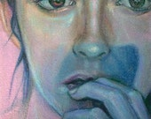 Lament for a Periwinkle - Original Painting