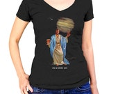 Save Me Whiskey Jesus T-Shirt - Funny Jesus and Whiskey TShirt - Mens and Ladies Sizes Small-3X