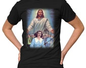 You Can Run But You Can't Hide T-Shirt - Funny Jesus Apocalypse TShirt - Mens and Ladies Sizes Small-3X