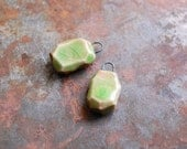 Charmed / Gem Cut Ceramic Earring Charms