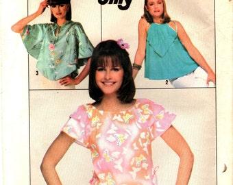 Simplicity 8062 JIFFY Pullover Tops ca. 1977