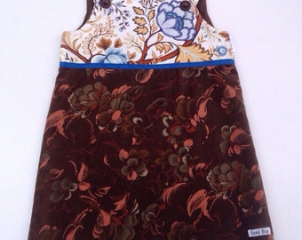 Velvet and Vintage Dress - Size 4/5