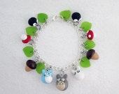 My Neighbor Totoro Studio Ghibli Charm Bracelet or Anklet