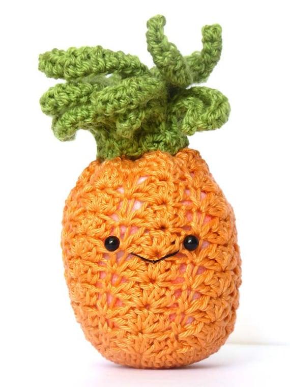 Pineapple Amigurumi Pattern Fruit Crochet Pattern