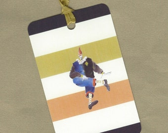 Colorful Clown Gift Tag Set, Hang Tags, Bookmarks PSS 2479