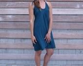 Hyssop Dress ~ Halter Dress ~ Bamboo & Organic Cotton ~ Made to Order