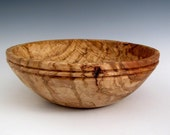 Rustic Round Oak Burl Wood Turned Bowl - Fruit Bowl - Centerpiece - Wedding Gift - Housewarming Gift