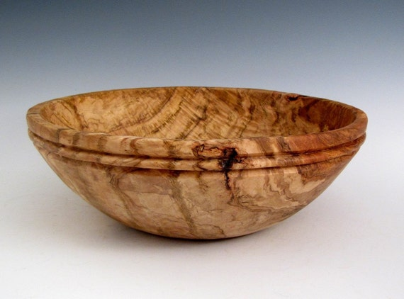 Wood bowl wooden rustic round oak burl by jlwoodturning