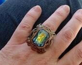 oO WESLEY Os splendid medieval ring