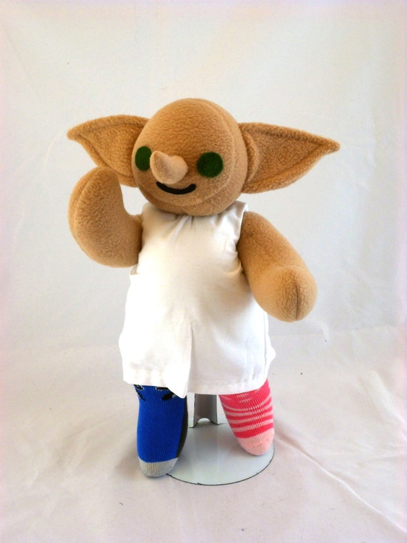 Cuddly Plush Helpful Elf