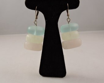 Watercolor Stack Earrings